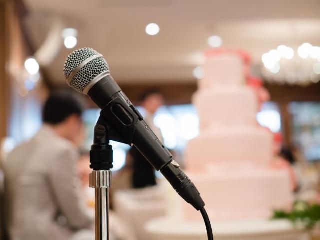 コロナ禍での結婚式 主賓のスピーチ